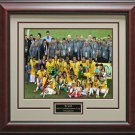 Brazil Wins Confederations Cup Champions Framed Photo