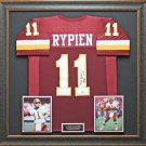 Mark Rypien Autographed Jersey Framed
