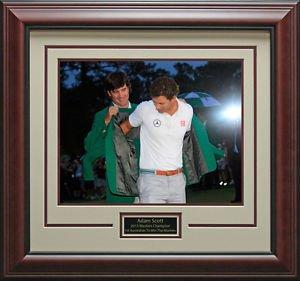 Adam Scott Green Jacket Ceremony 11x14 Photo Framed