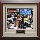 Kyle Busch Wins Auto Club 400 Photo Framed