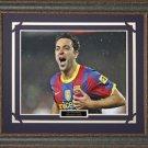 Xavi Hernandez FC Barcelona Framed Photo