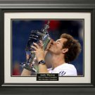 Andy Murray 2012 US Open 11x14 Photo Framed