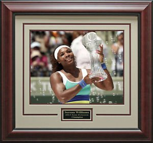 Serena Williams Wins Sony Ericsson 11x14 Photo Framed