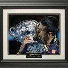 Novak Djokovic Unsigned 16x20 Photo Framed