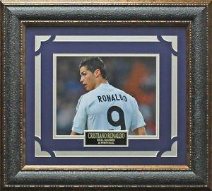Cristiano Ronaldo Real Madrid C.F. Framed Photo