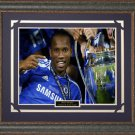 Didier Drogba Chelsea Framed Photo