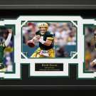 Brett Favre Signed Green Bay Packers Photo Display.