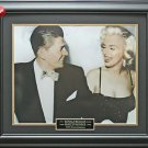 Ronald Reagan & Marilyn Monroe Framed 11x14 Photo