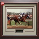Secretariat 1973 Kentucky Derby Framed Photo