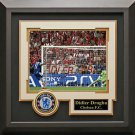 Didier Drogba Signed Champions League Photo Display.