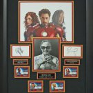 Iron Man 2 Signed Movie Collage Display.
