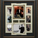 Daniel Craig Signed James Bond Collage Display.