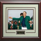 Jordan Spieth 2015 Masters Winner Green Jacket Photo Display.
