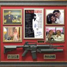 Scarface Cast Signed Movie Poster Framed Display LE 1 of 2.