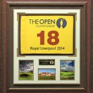 2014 British Open Royal Liverpool Flag Display.