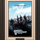 Fast & Furious 6  Framed Movie Poster