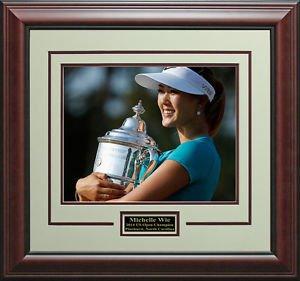 Michelle Wie 2014 US Open Champion Photo Display.