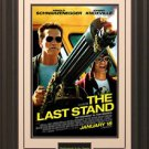 Last Stand Movie Poster Framed