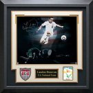 Landon Donovan Signed USA Soccer Photo Framed