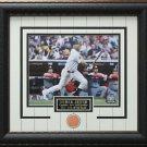 Derek Jeter Photo with Authentic New York Yankees Stadium Infield Dirt Display.