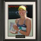 Maria Sharapova Wins BNP 11x14 Photo Framed