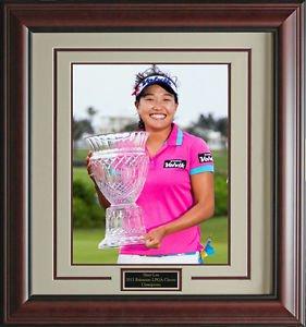 Ilhee Lee Wins Pure Silk Bahamas LPGA Classic Champion 16x20 Photo Framed
