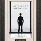 Fifty Shades Of Grey Mini Movie Poster Display.