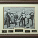 Early Beatles Engraved Replica Signature Photo Display
