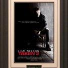 Taken 2 Movie Poster Framed