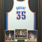 Kevin Durant Signed Oklahoma Thunder White Jersey