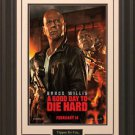 A Good Day To Die Hard Framed Movie Poster