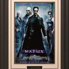 The Matrix 11x17 Movie Poster Framed