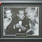 Humphrey Bogart & Marilyn Monroe & Lauren Bacall Framed 11x14 Photo
