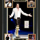 Michael Jackson Signed Postcard Collage Display 1 of 1.