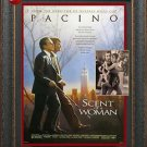 Scent of A Woman Signed Photo With Movie Poster Framed
