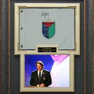Phil Mickelson Autographed World Golf Hall Fame Flag