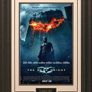 Dark Knight 11x17 Movie Poster Framed