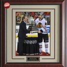 Patrick Kane 2013 Stanley Cup & Conn Smythe Trophy Photo Framed