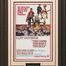 The Good The Bad and the Ugly 11x17 Movie Poster Framed