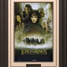 Lord Of The Rings The Fellowship of the Ring 11x17 Movie Poster Framed
