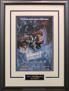 Star Wars Empire Strikes Back Mini Movie Poster