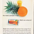 "1964 Dole Ad """"pineapple-orange"""""