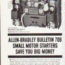 "1963 Allen-Bradley Ad """"Bulletin 709"""""