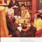 "1963 Pan-American Coffee Bureau Ad """"The world"""""