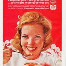 """1963 Campbell's Soup Ad """"""""puts more goodness in"""""""""""