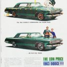 "1963 Dodge  Ad """"five full years"""" ... (model year 1963)"