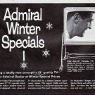 "1963 Admiral Television Ad """"Winter Specials"""""