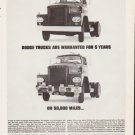 "1963 Dodge Trucks Ad """"Dodge Trucks Are Warranted"""""