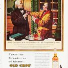 "1963 Old Crow Bourbon Whiskey Ad """"Henry Clay"""""