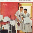 """1957 Saturday Evening Post Cover Page """"""""Just Married"""""""" ... June 29, 1957"""